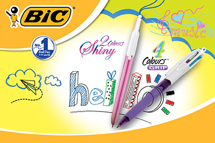 Fun-filled School Days with Bic Multi-color Pens